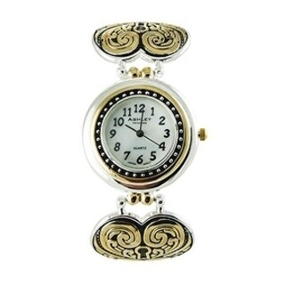 True Love Stands the Test of Time. Two Tone Gold & Silver Beautiful Women's Time Watch - Silver and Gold - N/A