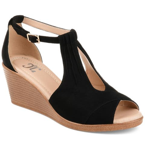f72b866e99 Buy Black Women's Wedges Online at Overstock | Our Best Women's ...