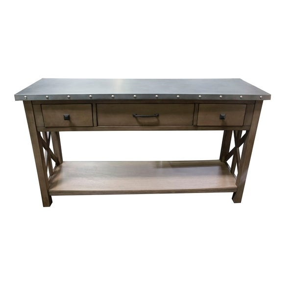 Best Home Furniture Reviews: Shop Best Master Furniture Industrial Sofa Table