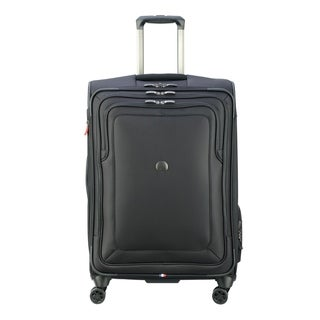"DELSEY Paris Cruise Lite Softside 25"" Expandable Hardside Spinner Suiter Trolley Suitcase"
