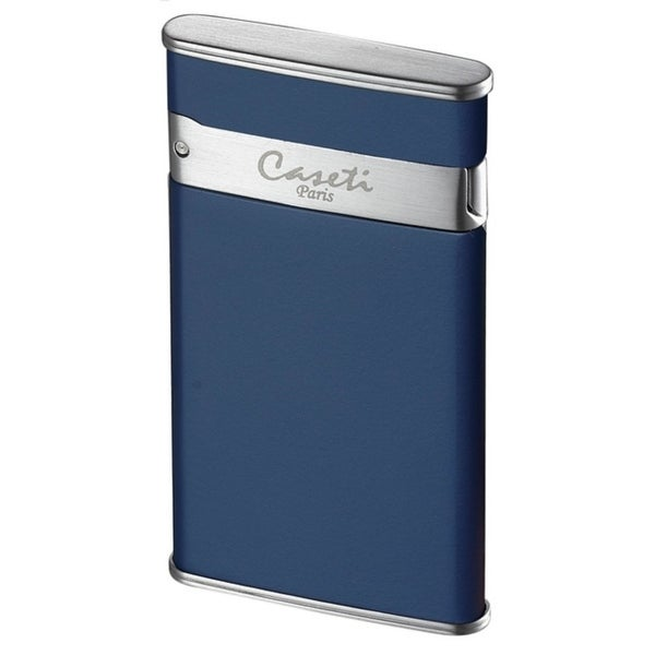 Caseti Flaco Ultra-thin Jet Flame Cigar Lighter - Blue Matte