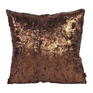 "20"" x 20"" Pillow Gold Cougar"