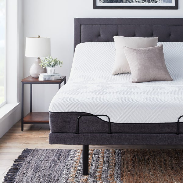 Shop Lucid Comfort Collection 10 Inch Queen Size Memory
