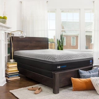 Sealy Performance Copper ll 13.5-inch Firm Hybrid Mattress Set