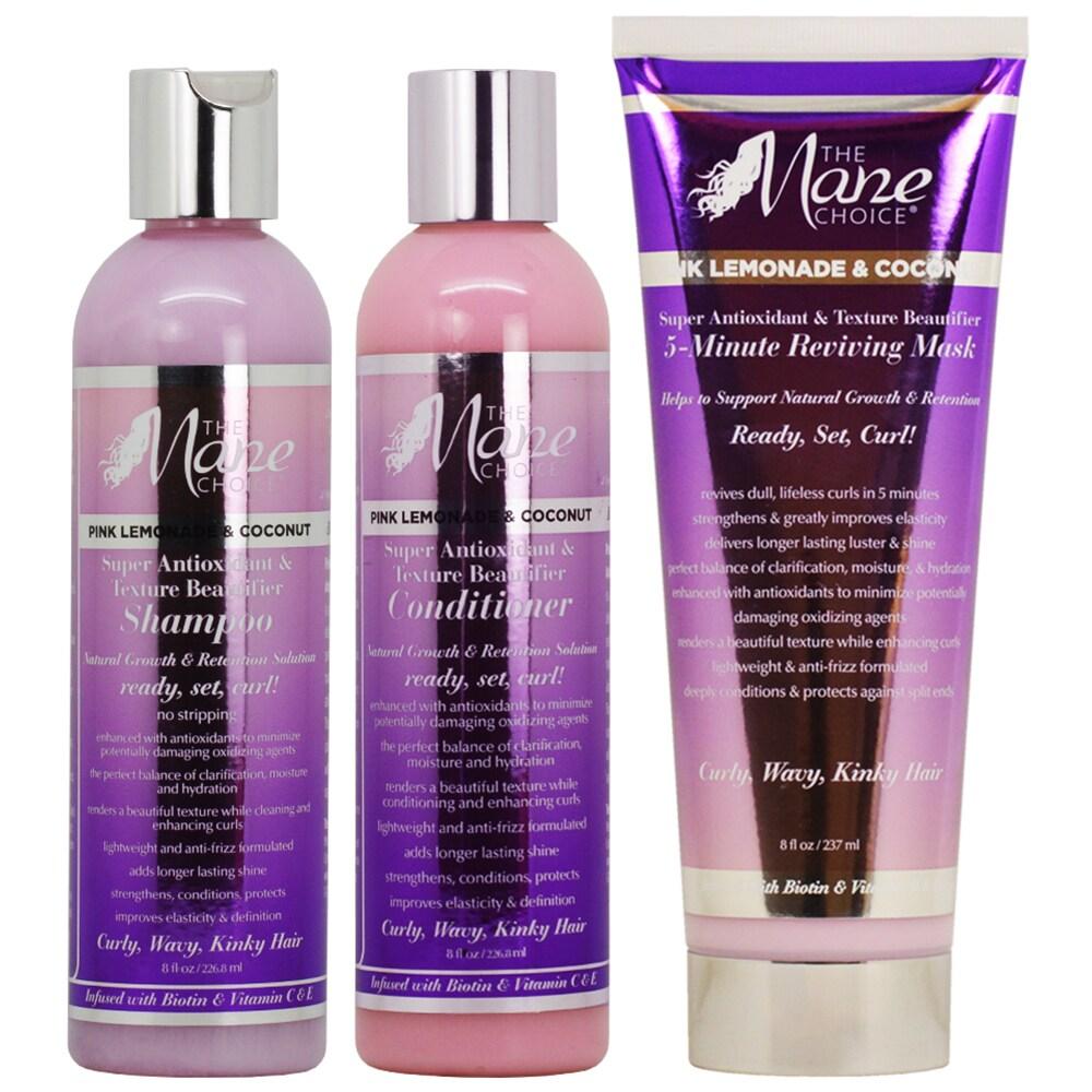 Shop The Mane Choice Pink Lemonade Coconut Shampoo Conditioner