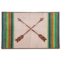 HiEnd Accents Rug with Arrow Design  , 24x36 - 24 x 36