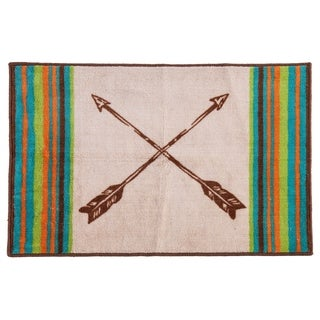 HiEnd Accents Rug with Arrow Design , 24x36
