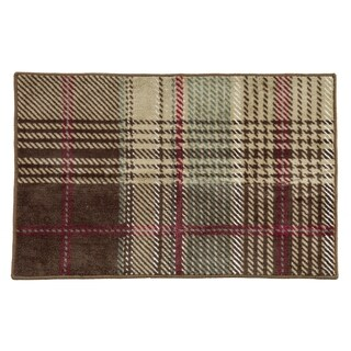 HiEnd Accents Huntsman Plaid Rug, 24x36 - 24 x 36