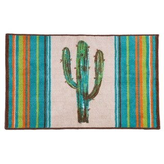 HiEnd Accents Rug with Cactus Design, 24x36