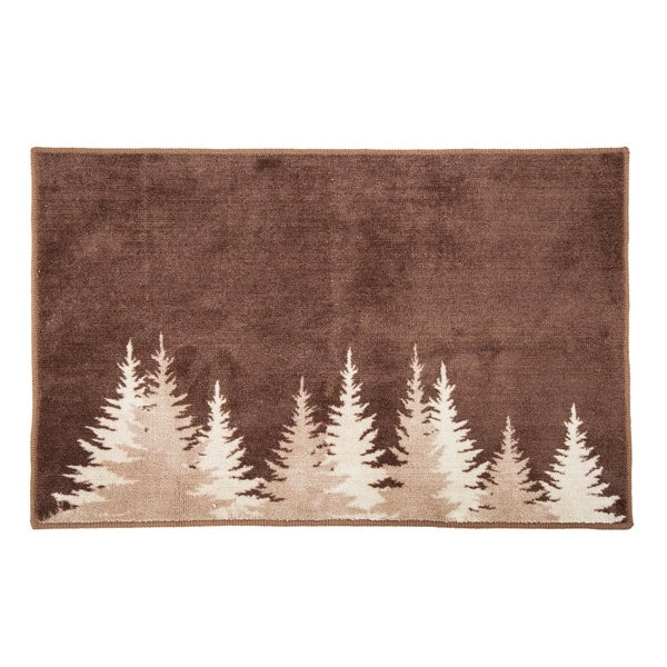 HiEnd Accents Clearwater Pines Rug, 24x36 - 24 x 36