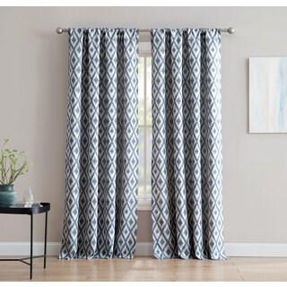 Kalahari Jacquard 84-inch Window Curtain with Rod Pocket -Single Panel, Inspired Surroundings by 1888 Mills