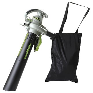 Lawnmaster Mulching Blower Vac with Collection Bag