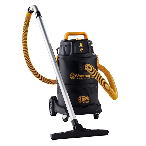 8 gal. HEPA Industrial Wet/Dry Vac with 2-Stage Motor