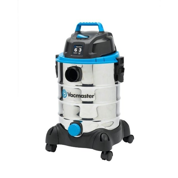 6-gal. Stainless Steel Wet/Dry Vac with Blower Function