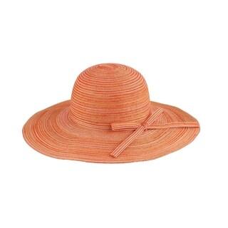 Mia - 100% Paper Straw Wide Brim Sun Hat Sun Styles - AH-001-11-OR