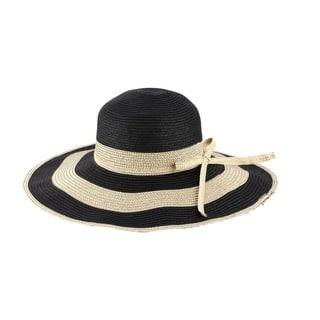 17887cf6f867c Chloe - 100% Paper Straw Wide Brim Sun Hat Sun Styles - AH-009