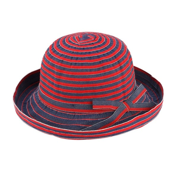06baaae9732 Diana - 50% Paper Straw 50% Polyester Woven Fabric Bowler Style Sun Hat Sun