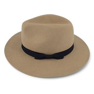 Berkley - 100% Wool Felt Modern-day Fedora Style Hat