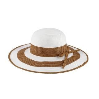 6209f3776bb4c Chloe - 100% Paper Straw Wide Brim Sun Hat Sun Styles - AH-009