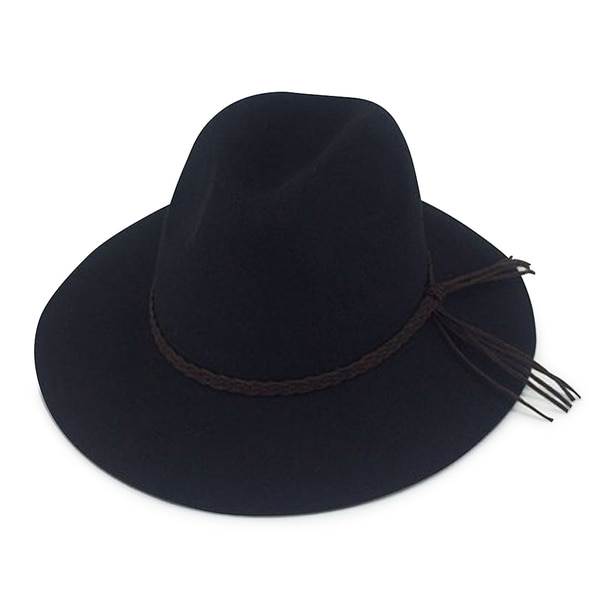 Shop Harper - 100% Wool Felt Modern-day Felt Hat - Free Shipping On Orders  Over  45 - Overstock.com - 20743441 72b3dad0c60a