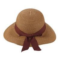 Julie - 100% Paper Straw Cloche Style Sun Hat Sun Styles - AH-033-4-DBE