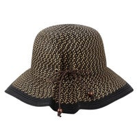 Shop Women s Natural Fedora Lace Line Brim Hat - Free Shipping On ... 922f05f7a38d