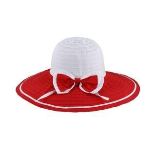 ec69aa68942a4 Sonia - 100% Polyester Fabric Wide Brim Sun Hat Sun Styles - AH-049