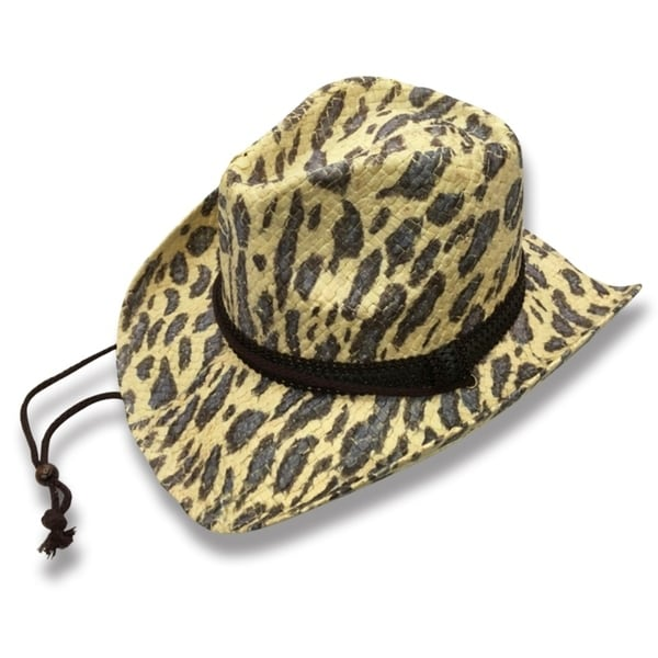 Shop Dolly - 100% Paper Straw Cowboy Drifter Style Hat - Free Shipping On  Orders Over  45 - Overstock.com - 20743806 b79f26978e2