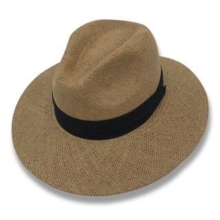 Esteban - 100% Paper Straw Classic Panama Style Hat