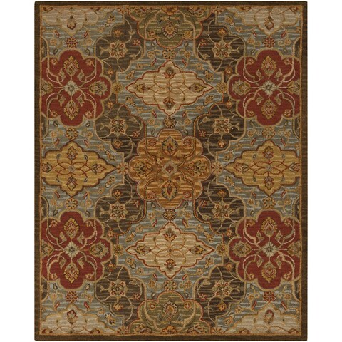 Copper Grove Ambrose Hand-tufted Transitional Wool Area Rug