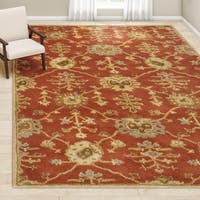 Gracewood Hollow Luther Hand-Tufted Wool Area Rug (10' x 14')