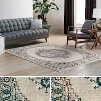 Gracewood Hollow Himes Wool and Polyester Blend Area Rug (8'10 x 12'9)