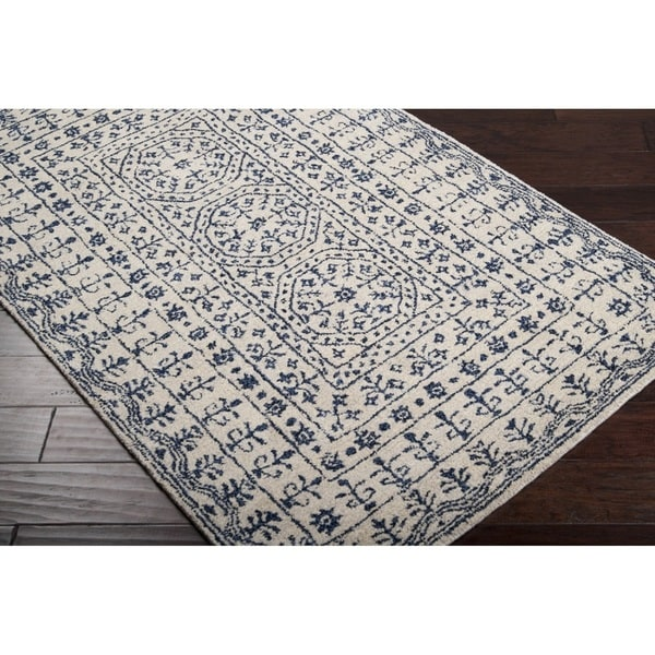 Gracewood Hollow Wright Hand-tufted New Zealand Wool Area Rug