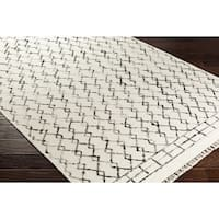 The Curated Nomad Duncan Hand-woven Wool Area Rug - 8' x 10'