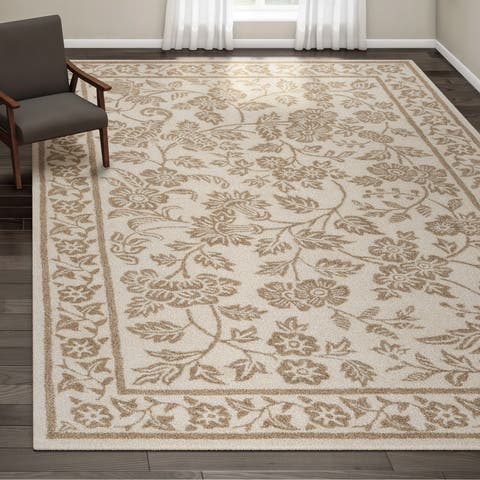 Gracewood Hollow Souljah Hand-tufted Wool Area Rug