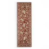Gracewood Hollow Souljah Hand-Tufted Wool Area Rug - 2'6 x 8'