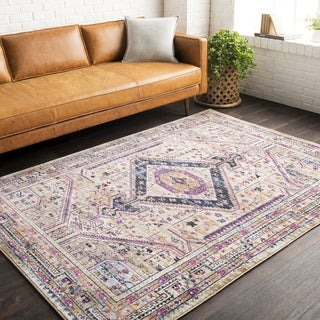 """The Curated Nomad Whitney Oriental Area Rug - 3'11"""" x 5'7"""""""