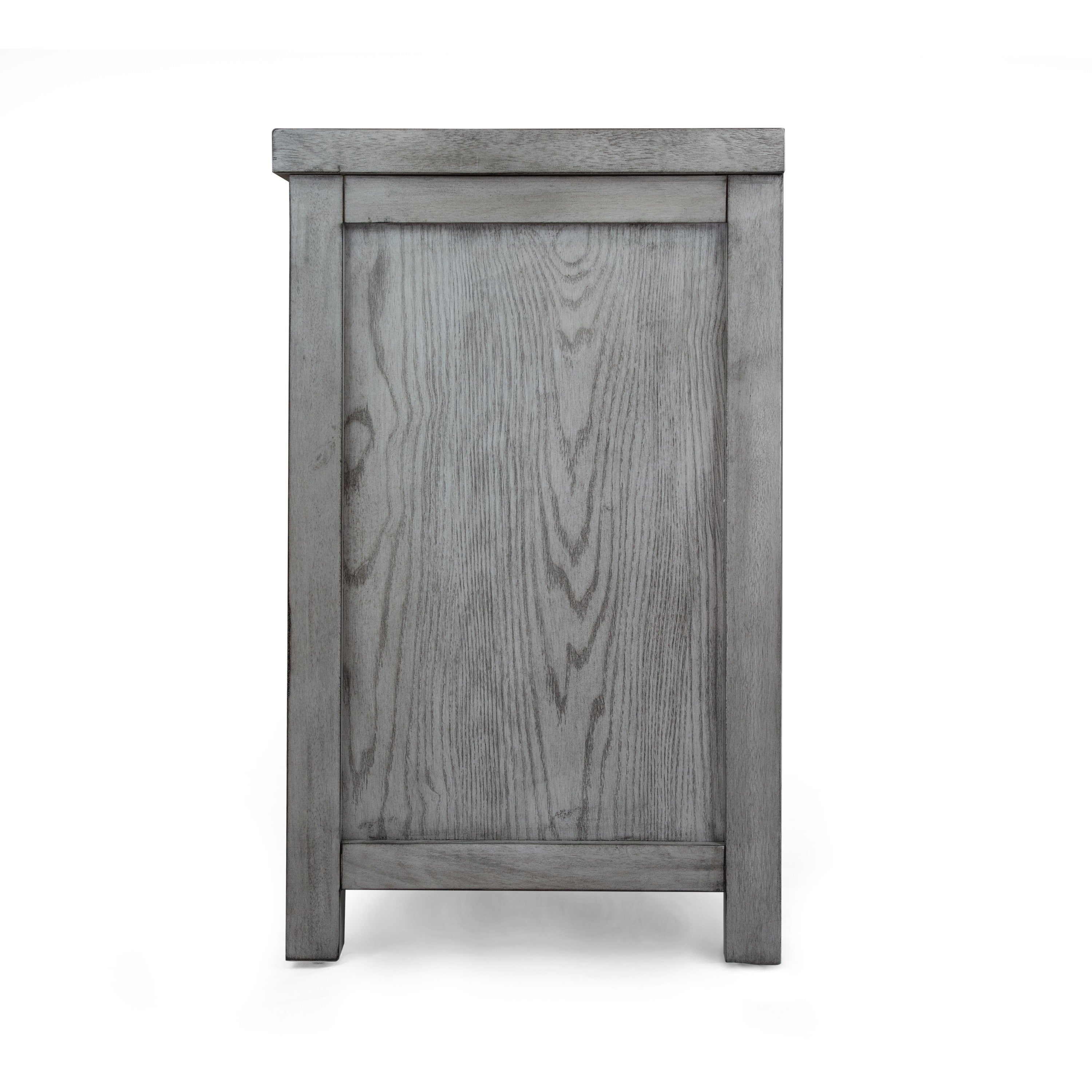 Furniture Of America Dily Transitional Grey Wood 1 Drawer Nightstand