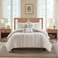 Harbor House Anslee 3 Piece Cotton Yarn Dyed Comforter Set