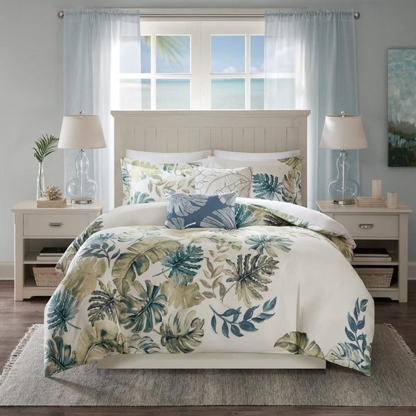 Harbor House Lorelai Multi Cotton Printed 5 Piece Duvet Cover Set