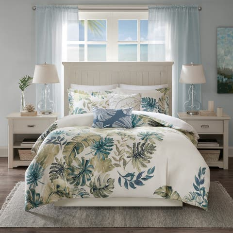 Harbor House Lorelai Multi Cotton Printed 5 Piece Duvet Cover Set