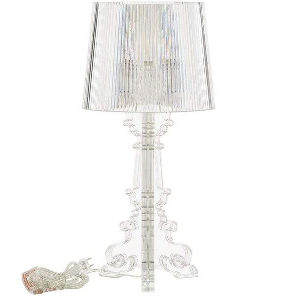French Petite Acrylic Acrylic Table Lamp
