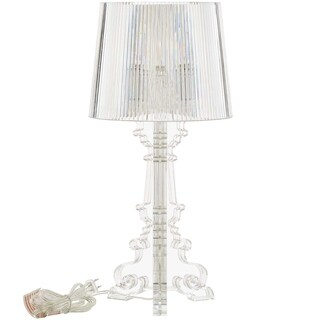 French Petite Acrylic Acrylic Table Lamp - n/a