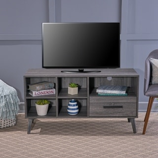 Link to Marceau Mid-century Modern Faux Wood TV Stand by Christopher Knight Home Similar Items in Media Cabinets