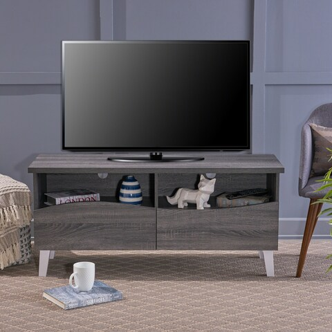 Gwendolyn Modern Faux Wood TV Stand by Christopher Knight Home