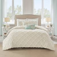 Harbor House Cannon Beach Cotton Chenille Oversized Duvet Cover Set