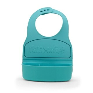 Dare-U-Go Baby Bib and Food Container In One - Turquoise