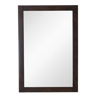 Indigo Home Vanity Mirror 22in. X 32in. in Antique Coffee - Antique Coffee