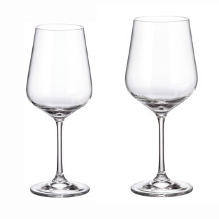 Crystalite Bohemia Duo (Strix) 12PC Stemware Set