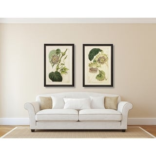 Passion Florals Framed Art Print Set